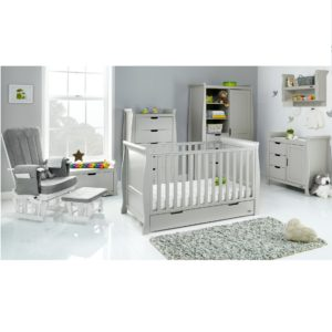 Obaby Stamford Classic 7 Piece Room Set - Warm Grey