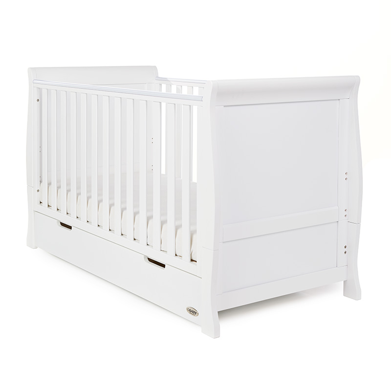1631ced580b3 Obaby Stamford Classic Sleigh Collection Nursery Room Set Builder ...