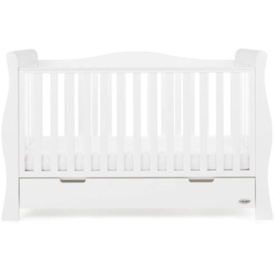 Obaby Stamford Luxe 3 Piece Room Set - White 2
