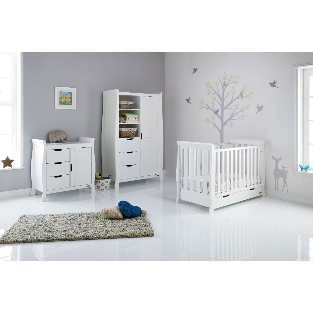 Furniture Stores Stamford Ct: Obaby Stamford Mini Sleigh 3 Piece Nursery Room Set Plus