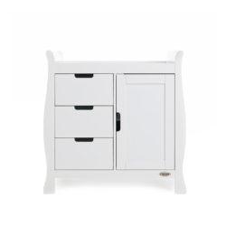 Obaby Stamford Sleigh Changing Unit - White