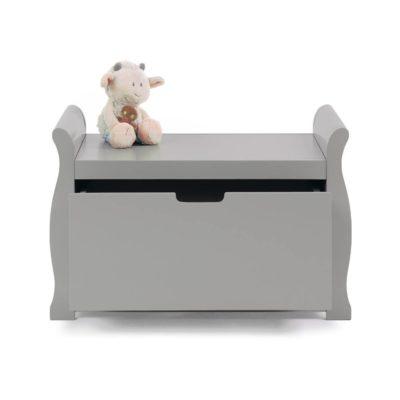 Obaby Stamford Sleigh Toy Box - Warm Grey 2