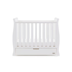 Obaby Stamford Space Saver Cot - White 4
