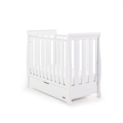 Obaby Stamford Space Saver Cot - White
