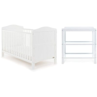 Obaby Whitby 2 Piece Room Set - White