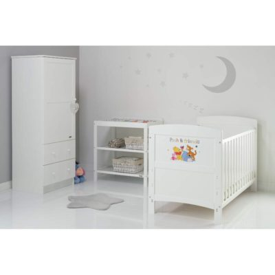 Obaby Winnie the Pooh 3 Piece Room Set - Pooh and Friends