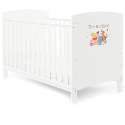 Obaby Winnie the Pooh Cot Bed - Pooh and Friends