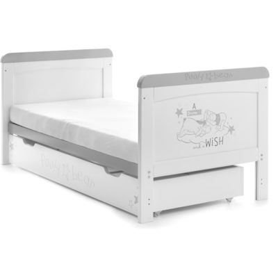 Obaby Winnie the Pooh Deluxe Cot Bed and Underdrawer - Dreams and Wishes 2
