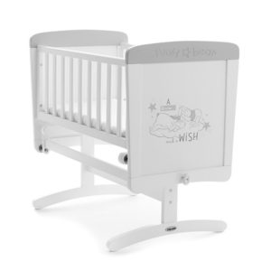 Obaby Winnie the Pooh Gliding Crib - Dreams and Wishes