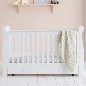 East Coast Kensington Cot Bed White