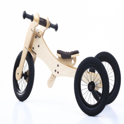 TRYBIKE 4-IN-1 BALANCE BIKE BROWN