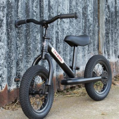 TRYBIKE STEEL balance bike all black