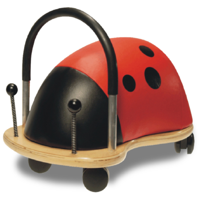 Wheelybug large ladybird