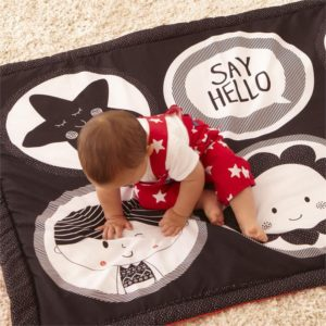 "East Coast ""Say Hello"" Friends Double-sided Activity Mat"