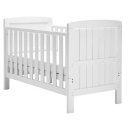 East Coast Austin Cot Bed White