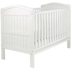 East Coast Country Cot Bed White
