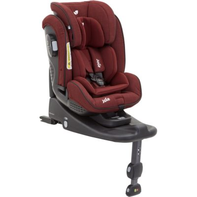 Joie Stages Isofix 0/1/2 - Cranberry plus Accessories