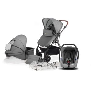 kinderkraft moov 3 in 1 travel system grey