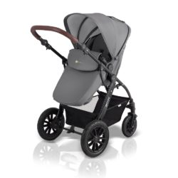 kinderkraft moov 3 in 1 travel system pushchair grey