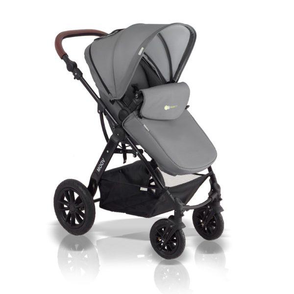 kinderkraft moov stroller grey