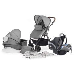 Kinderkraft Moov 3 in 1 Travel System - Grey