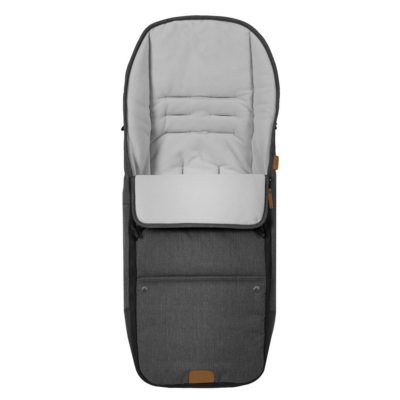 mutsy nio north footmuff grey