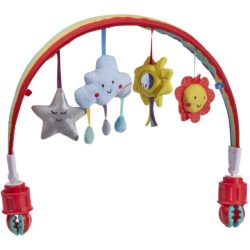 """Say Hello"" Happy Adventures Stroller Arch"