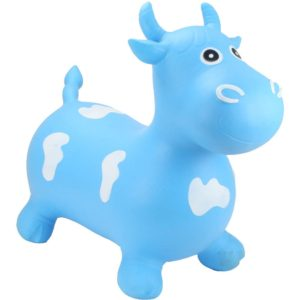 Happy Hopperz Big Face Blue Bull
