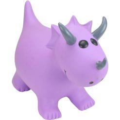 Happy Hopperz Purple Triceratops