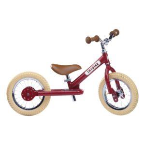 Trybike - Steel 2 In 1 Balance Bike Vintage Red