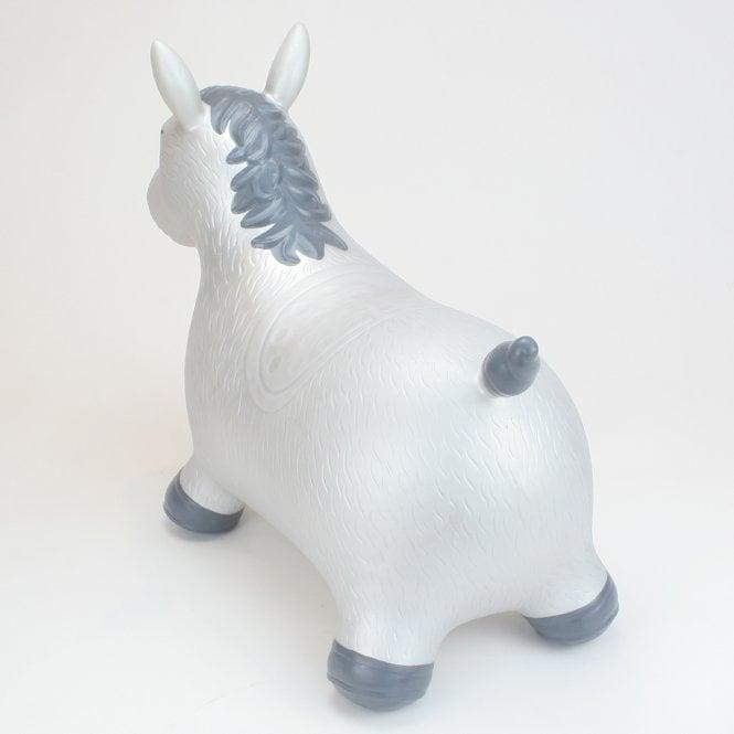 Happy Hopperz Silver Horse