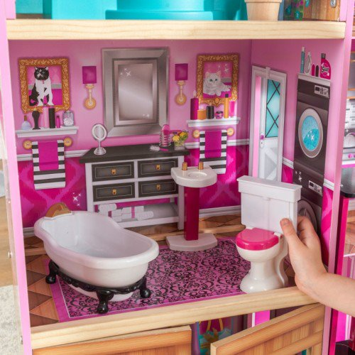 Kidkraft Shimmer Mansion Dollhouse Smart Kid Store