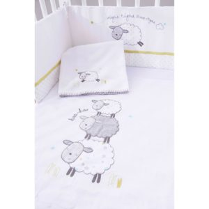 Silvercloud Counting Sheep Space-Saving Bedding Set