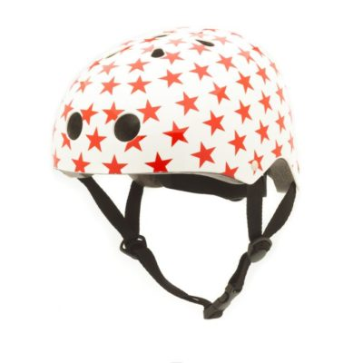 Coconuts Helmet Red Stars Medium