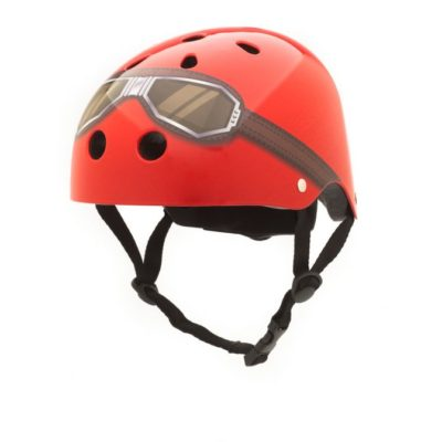 CoConuts - Red Helmet With Goggles Medium