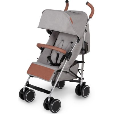 Ickle Bubba Discovery Prime Stroller - Grey on Silver Frame 2