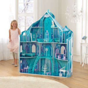 KidKraft Disney Frozen SnowFlake Mansion2