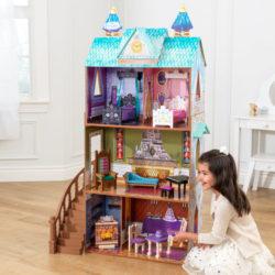 Kidkraft Disney® Frozen Arendelle Palace Dollhouse2