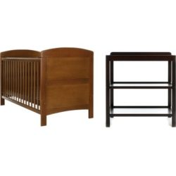 Obaby Grace 2 Piece Room Set - Walnut