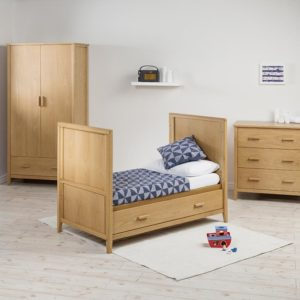 East Coast Dorset 3 Piece Oak Nursery Room Set