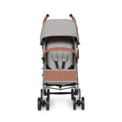 ickle bubba discovery stroller grey on silver front on