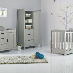 obaby stamford mini sleigh cotbed nursery room set builder