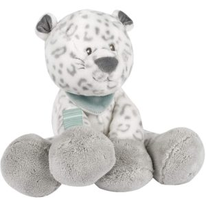 Nattou Loulou, Lea, and Hippolyte - Cuddly Lea the Snow Leopard