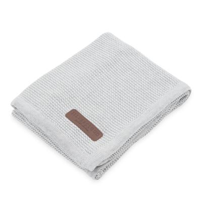 silver cloud for little adventurers pram blanket 100% cotton