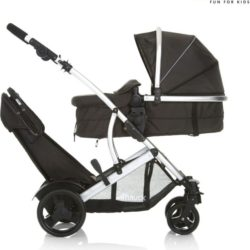 Hauck Duett 2 Tandem Pushchair - Black