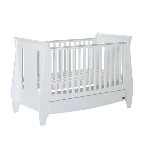 Strange Tutti Bambini Lucas Cot Bed Mattress Accessories White Creativecarmelina Interior Chair Design Creativecarmelinacom