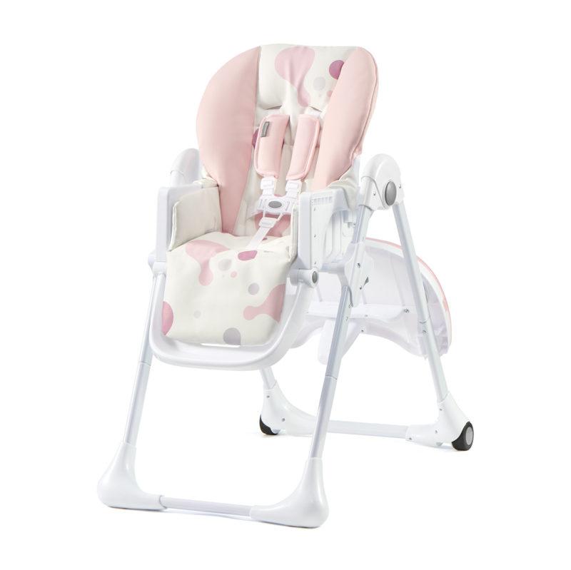 Kinderkraft Pink Yummy Highchair