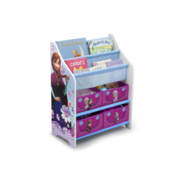 Delta Children Disney Frozen Book Case and Toy Organizer