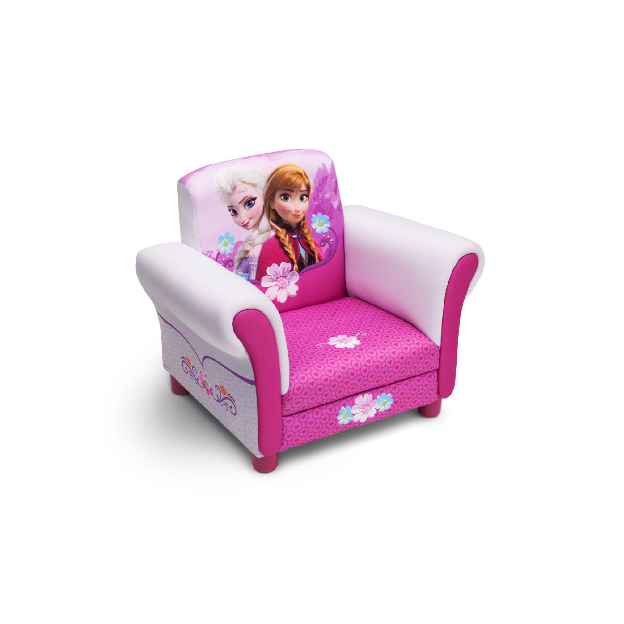 Delta Children Disney Frozen Upholstered Childs Toddler