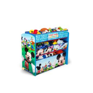 Delta Children Disney Mickey Mouse Multi-Bin Toy Organizer2
